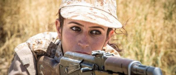 KurdishFemaleFighter