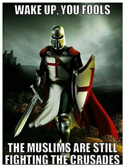 MuslimsStillFightingCrusades